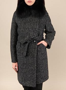 Пальто зимнее прямое полушерстяное 31, КАЛЯЕВ