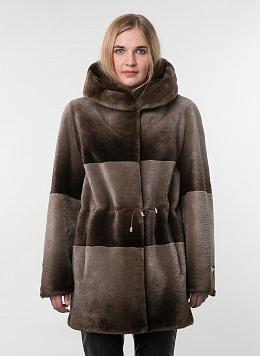 Куртка из бобра Автоледи 12, КАЛЯЕВ