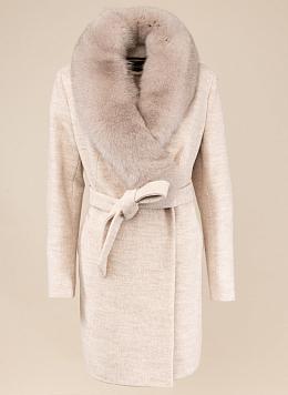 Пальто зимнее приталенное шерстяное 12, КАЛЯЕВ