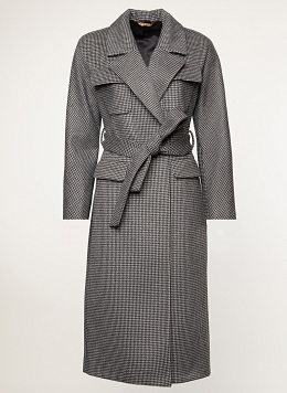 Пальто полушерстяное 52, Заря Моды
