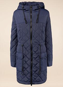 Пальто прямое утепленное 22, КАЛЯЕВ
