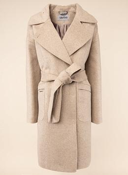 Пальто прямое шерстяное 74, КАЛЯЕВ
