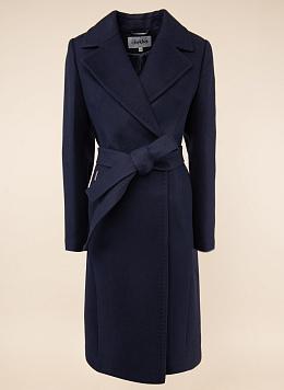 Пальто прямое шерстяное 66, idekka