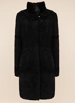 Пальто приталенное из овчины 03, КАЛЯЕВ
