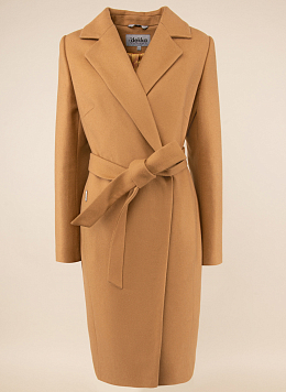 Пальто приталенное шерстяное 49, КАЛЯЕВ