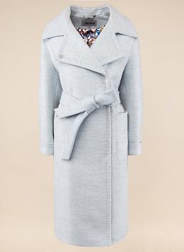 Пальто прямое полушерстяное 58, idekka