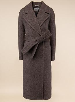 Пальто прямое полушерстяное 76, idekka