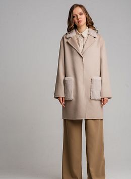 Пальто без подкладки чистошерстяное 04, КАЛЯЕВ