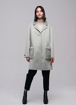 Пальто без подкладки чистошерстяное 05, КАЛЯЕВ