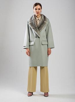 Пальто без подкладки чистошерстяное 06, ALCATO
