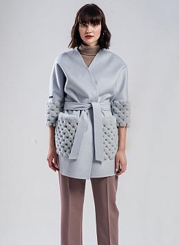 Пальто без подкладки чистошерстяное 01, ALCATO