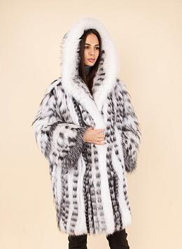 Пальто из лисы 03, КАЛЯЕВ