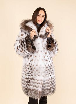 Пальто из лисы 02, КАЛЯЕВ