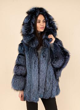 Куртка из лисы 01, КАЛЯЕВ