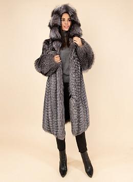 Пальто из лисы 04, КАЛЯЕВ