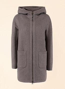 Пальто с капюшоном 292, КАЛЯЕВ