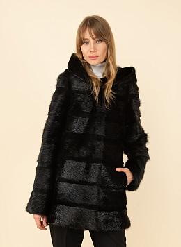 Куртка из нутрии Джульетта 1 01, КАЛЯЕВ