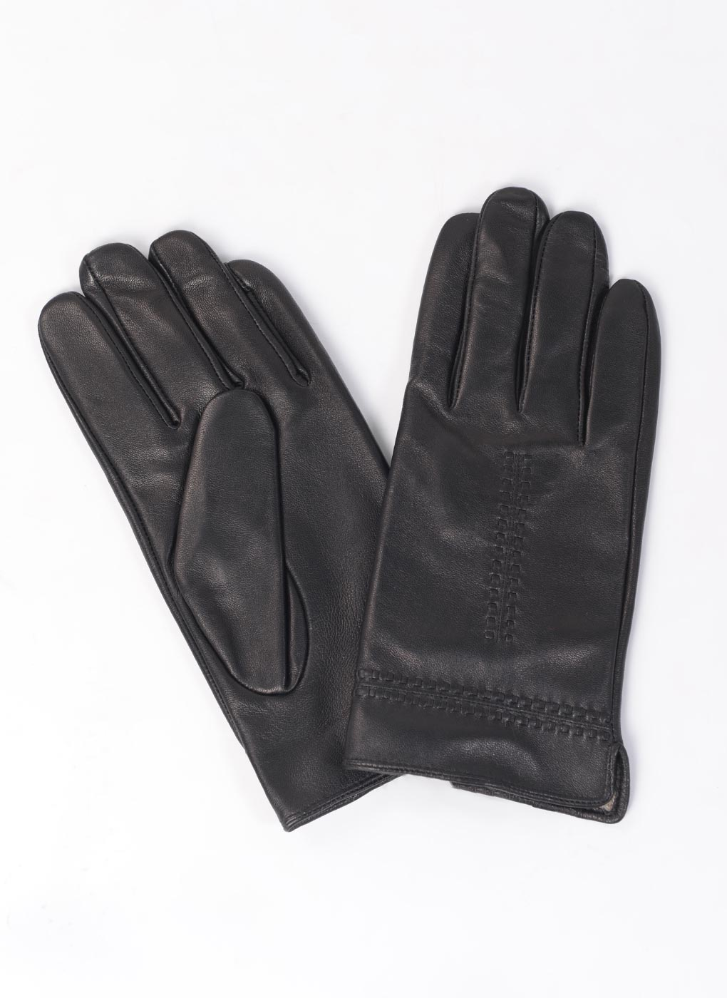 Перчатки кожаные мужские 04, YVONNE фото