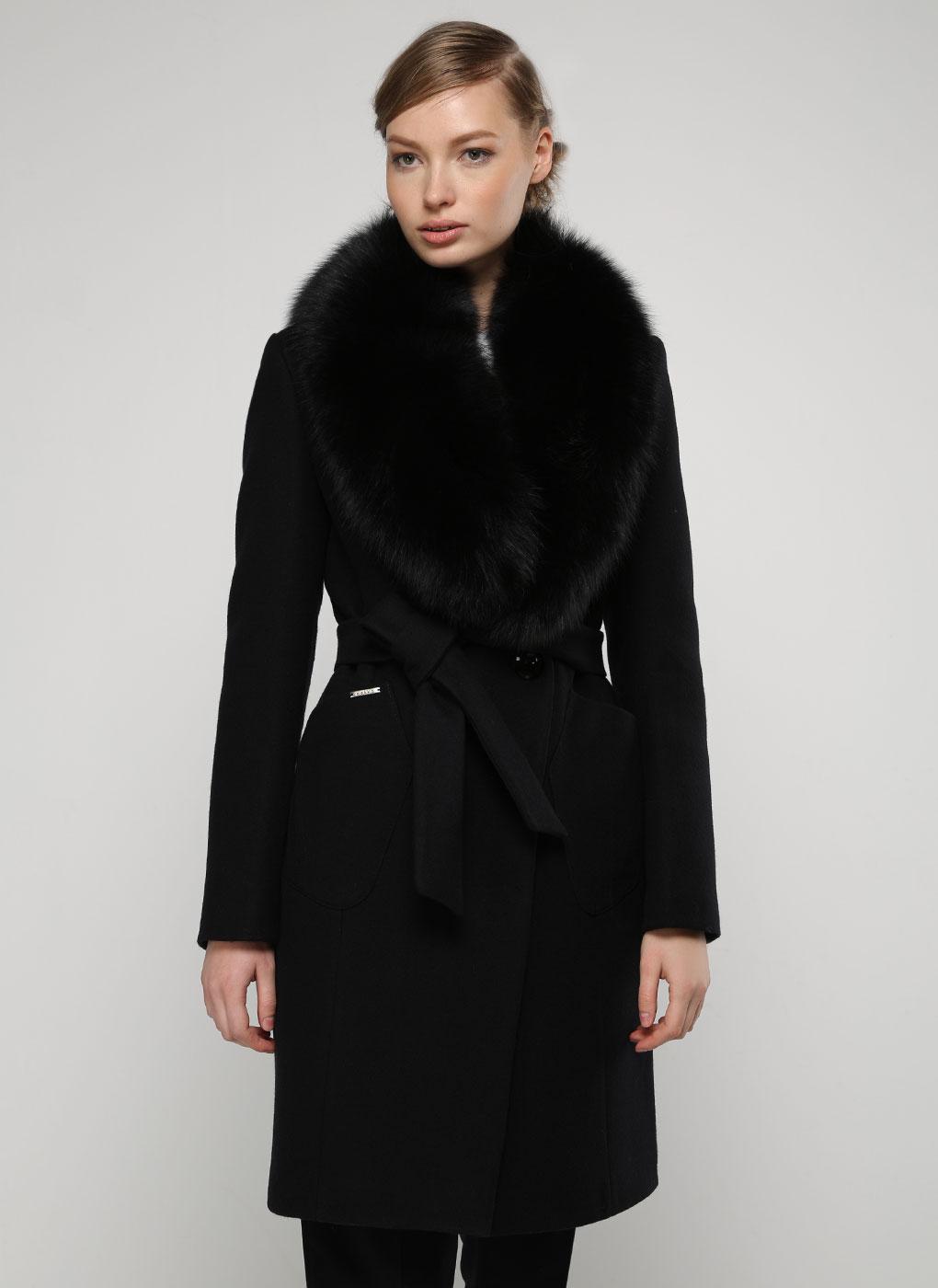 Пальто приталенное шерстяное 32, idekka