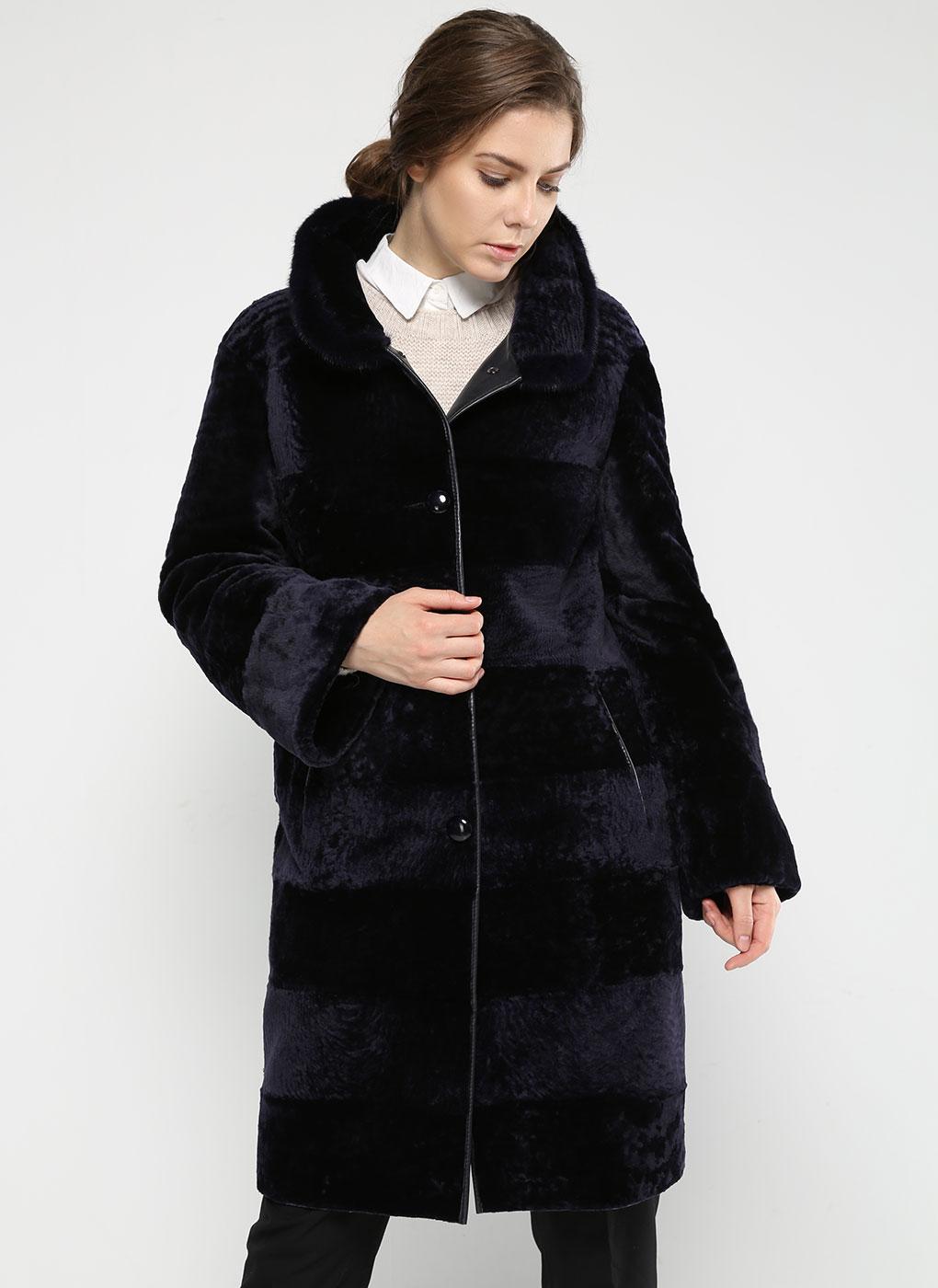 Пальто кокон из астрагана 01, Aliance fur