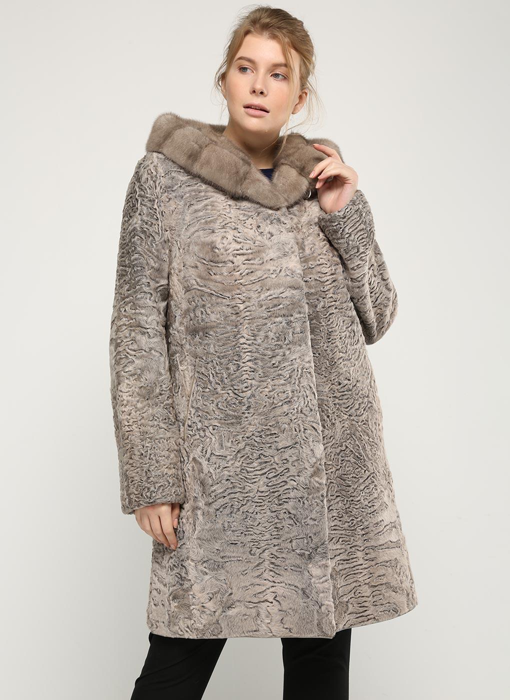 Шуба из каракуля Мелисандра 01, Panafics furs
