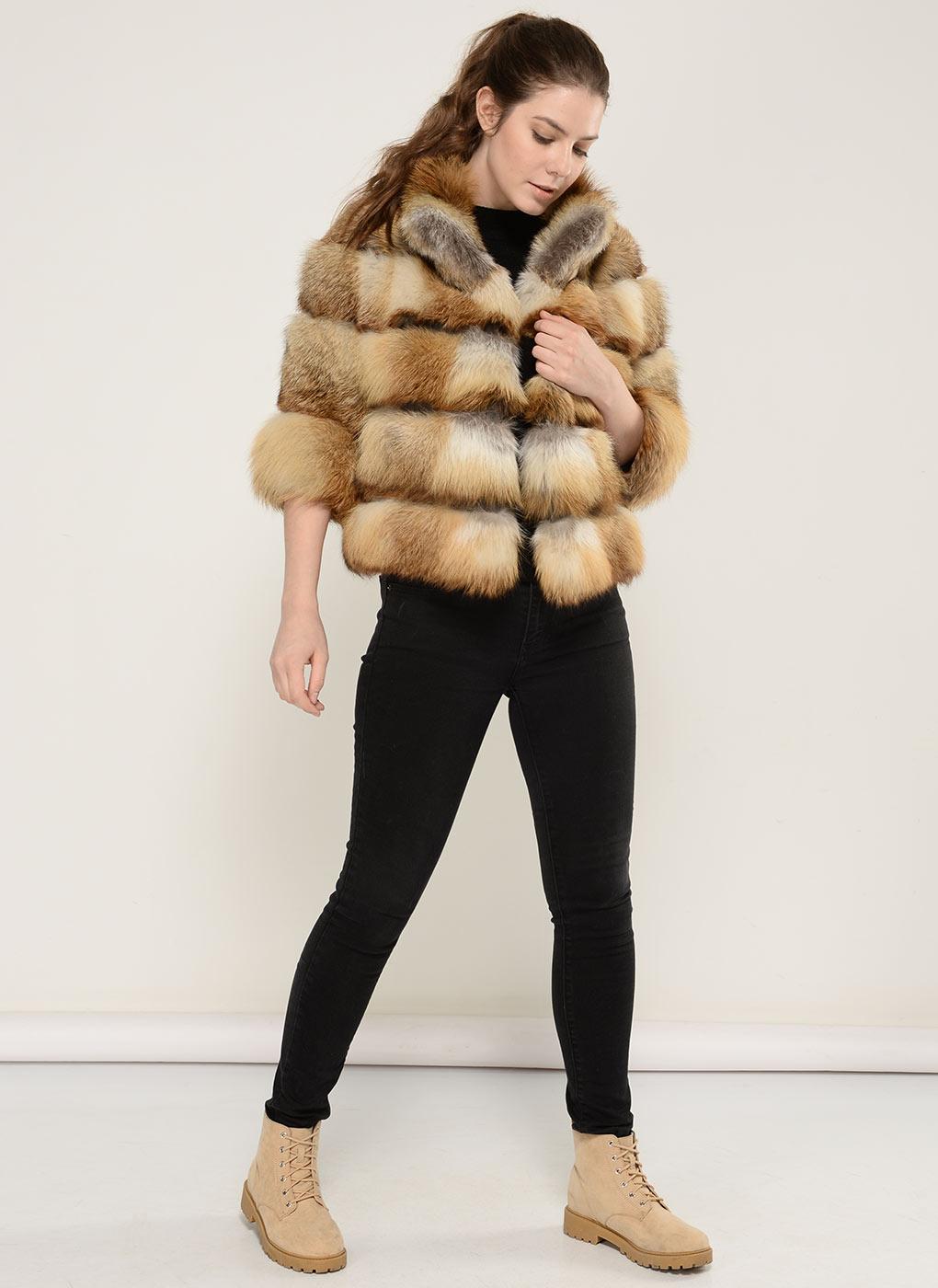 Куртка из лисы Джульетта 02, Gellica