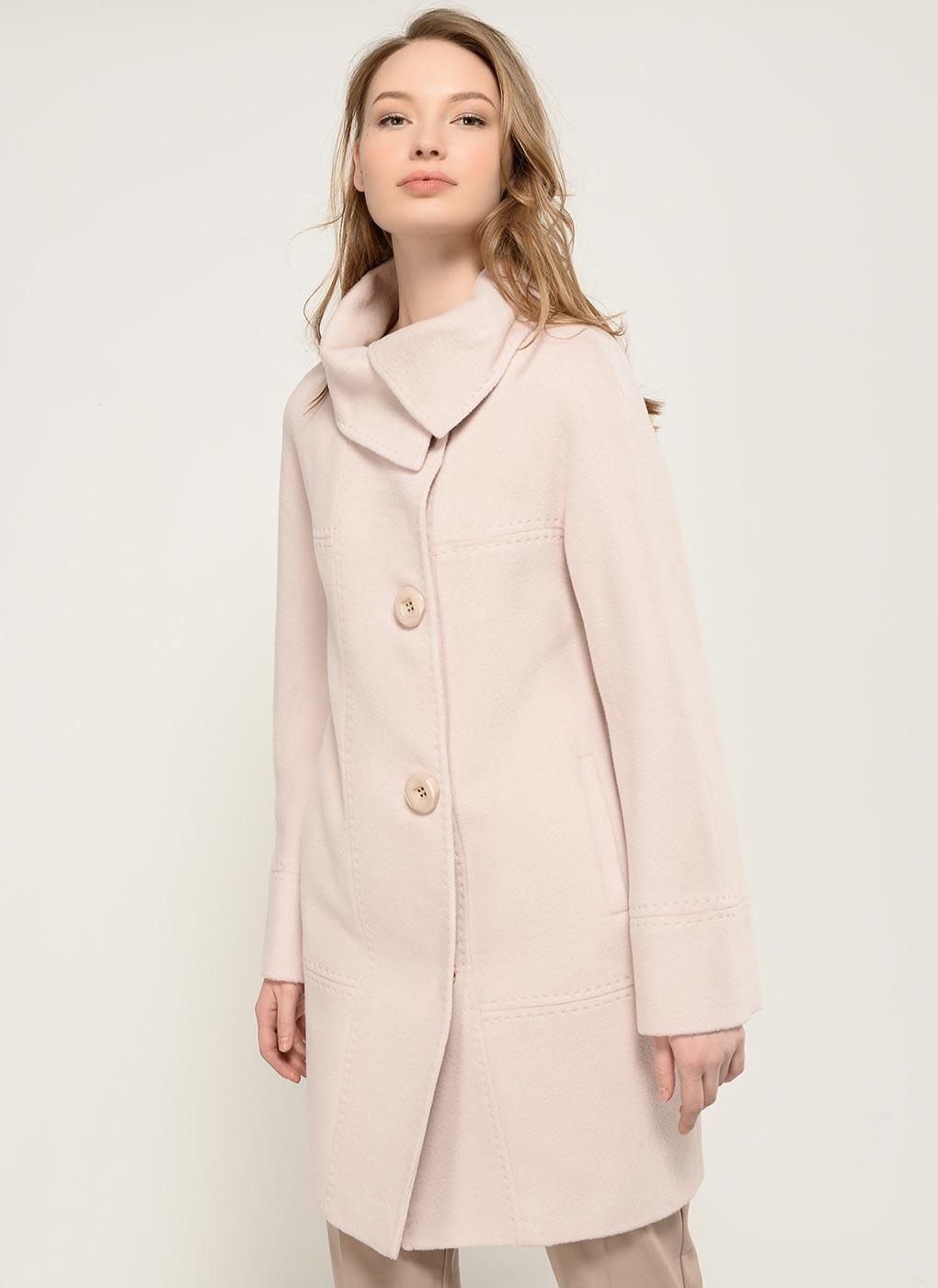 Пальто кокон шерстяное 05, Bella collection