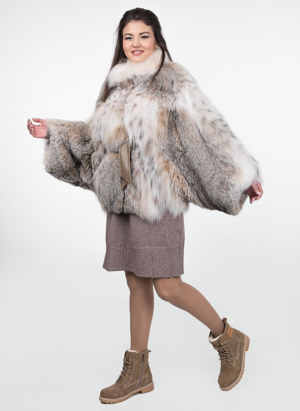 Куртка из рыси Дея 01, КАЛЯЕВ