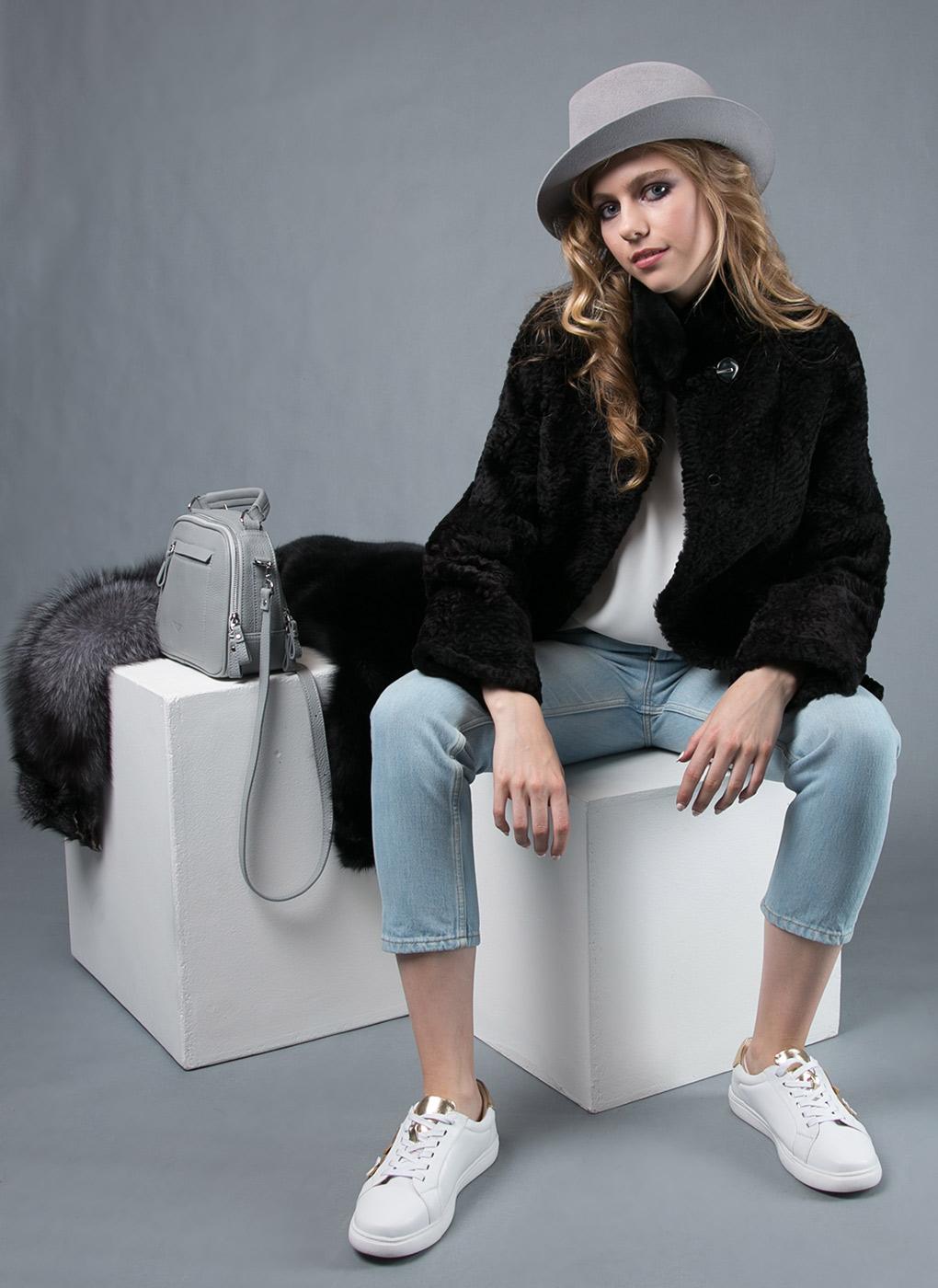 Куртка из мутона прямая 25, Original fur company