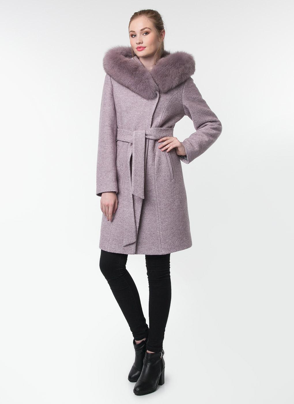 Пальто приталенное полушерстяное 13, Galla Lady фото