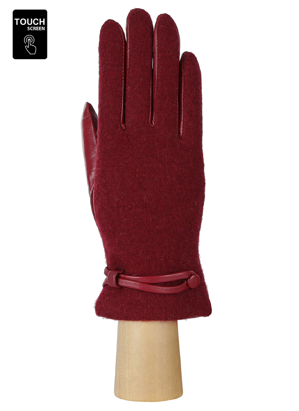 Перчатки шерстяные женские 02, Fabretti фото