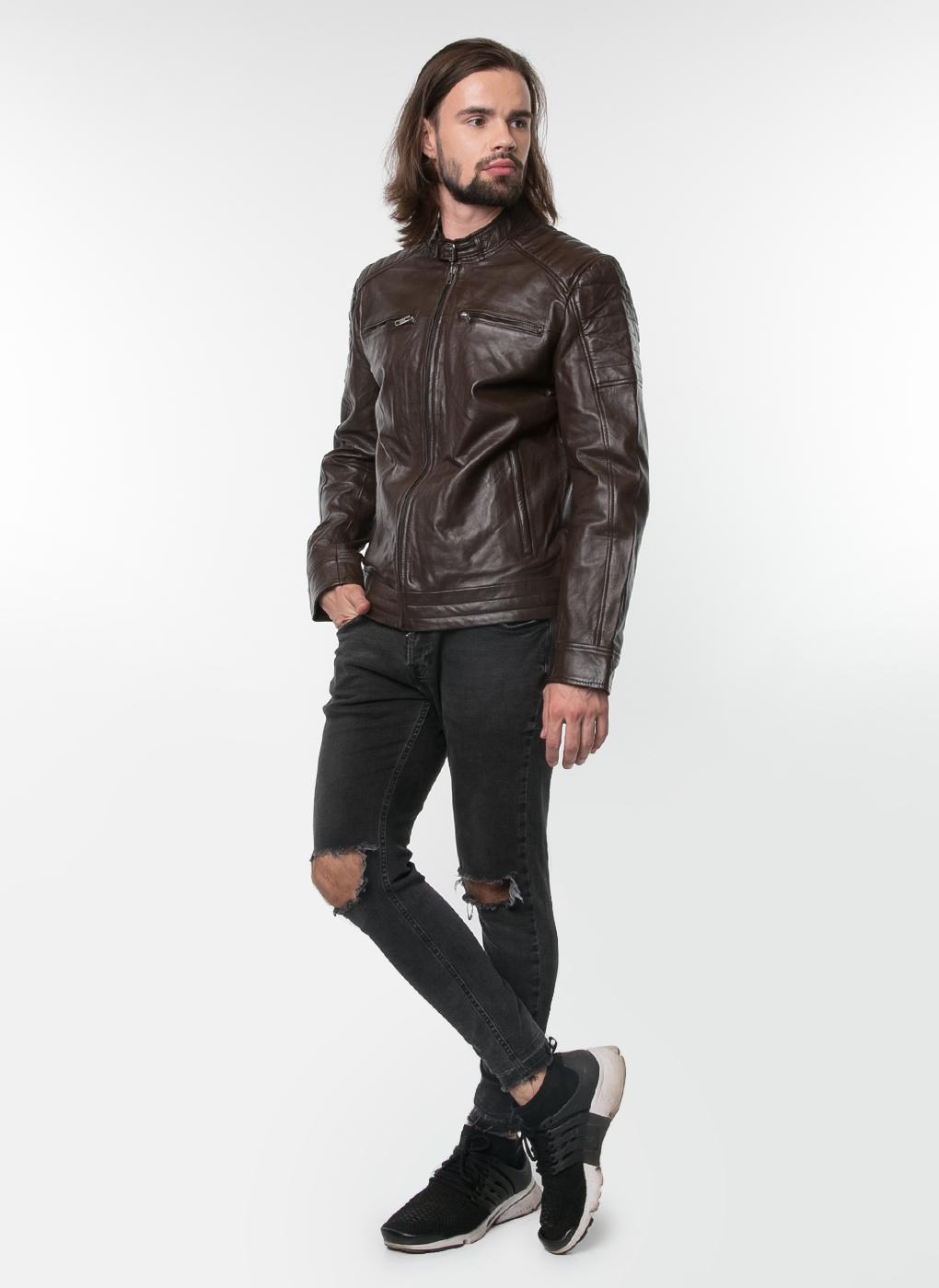Кожаная куртка мужская 04, Gotthold фото