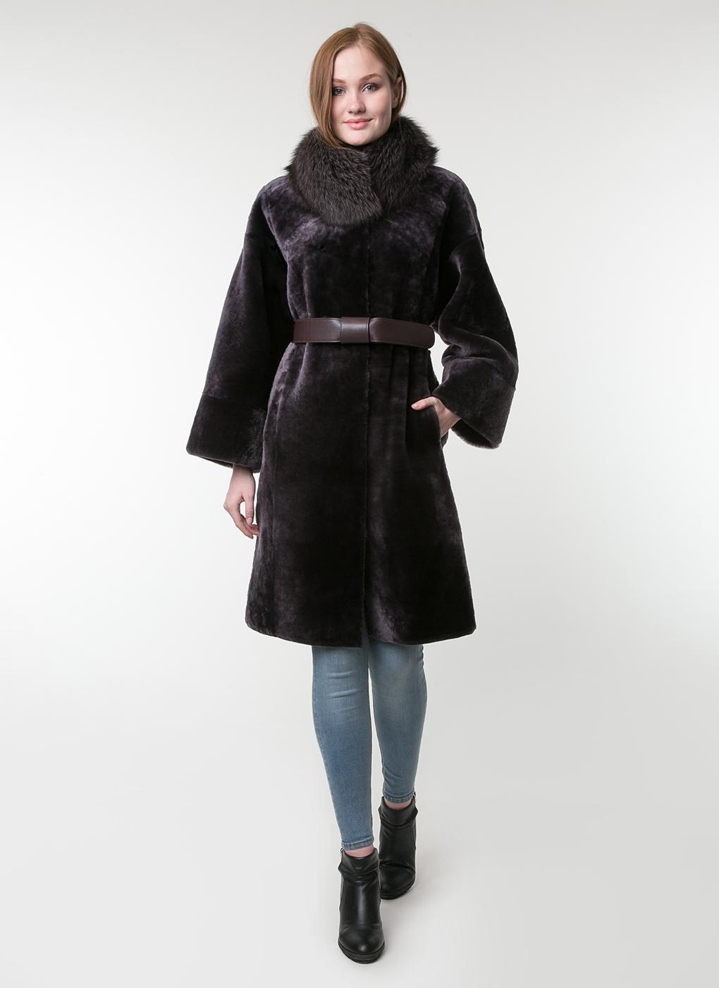 Пальто прямое из овчины 01, Feliz Furs фото