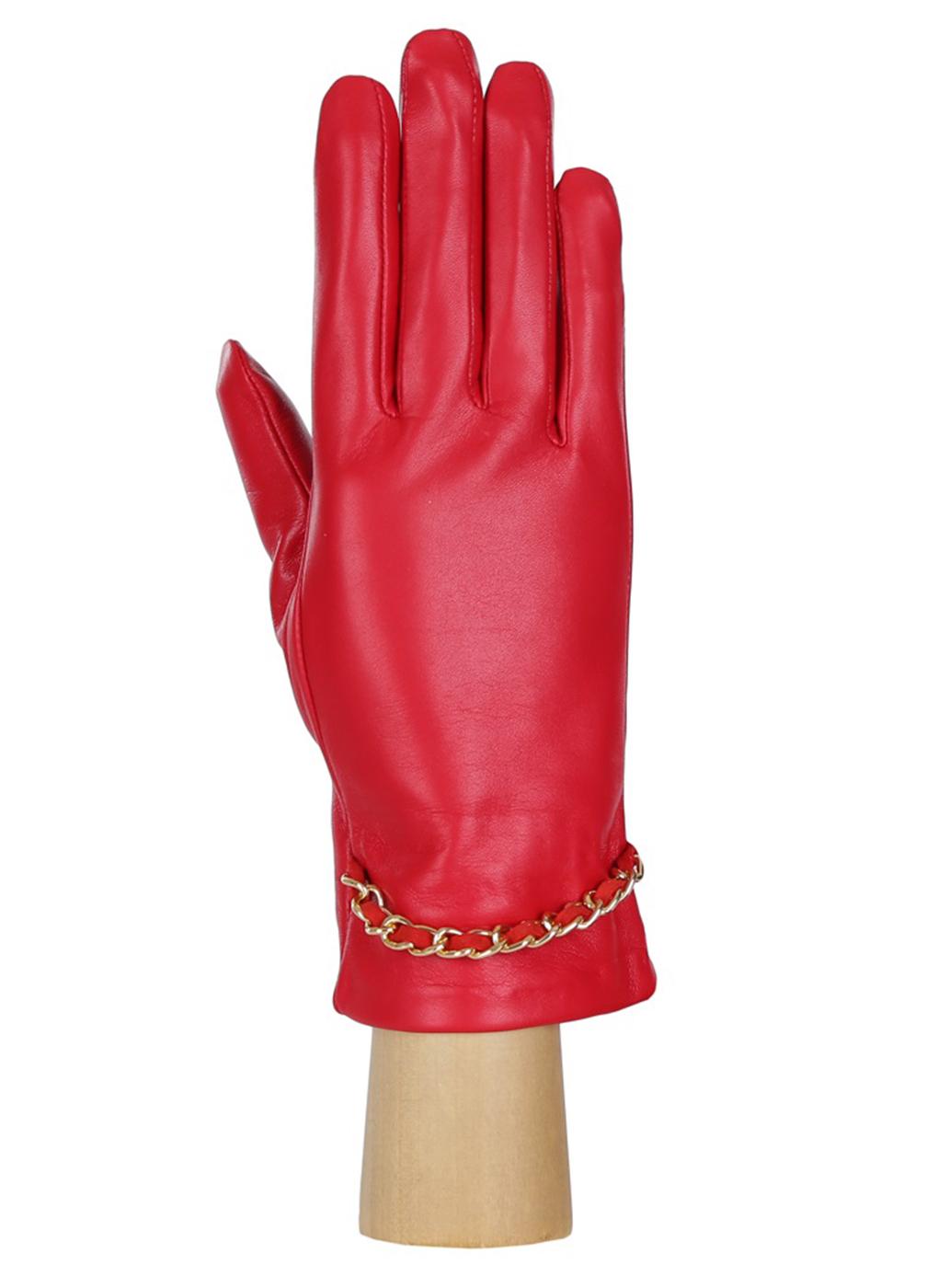 Перчатки кожаные женские 04, Fabretti фото