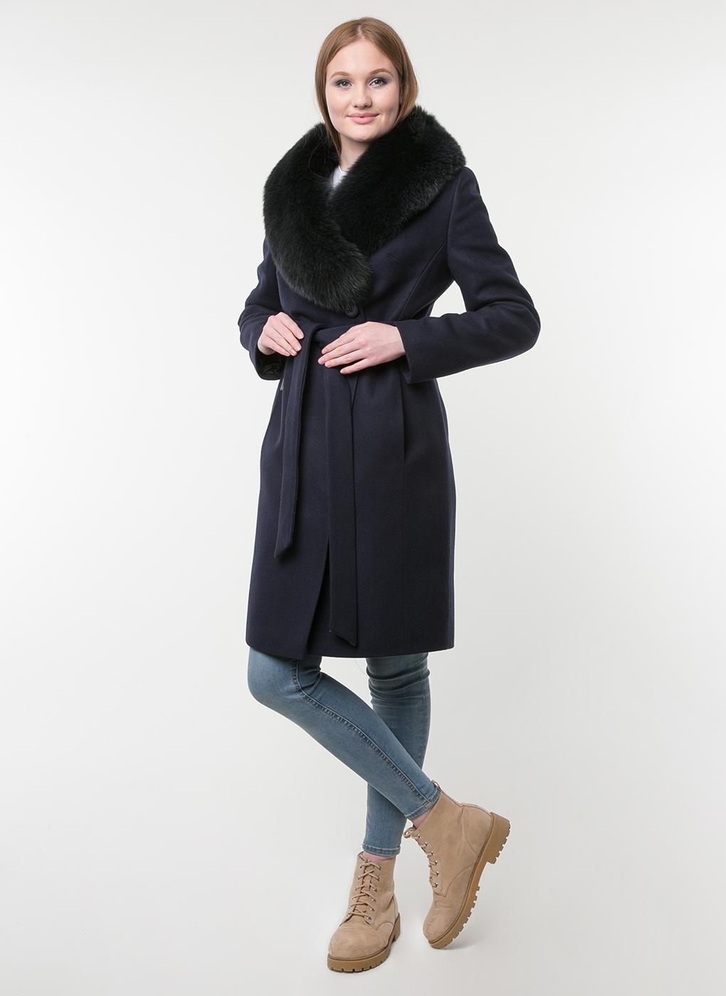 Пальто приталенное шерстяное 34, idekka