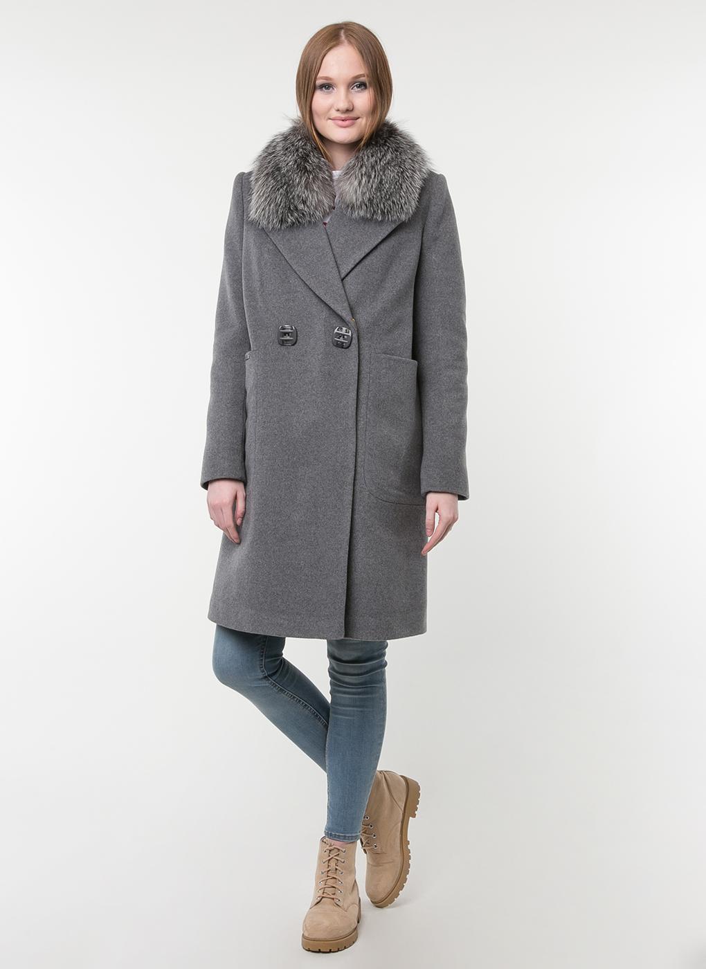 Пальто прямое шерстяное 50, idekka фото