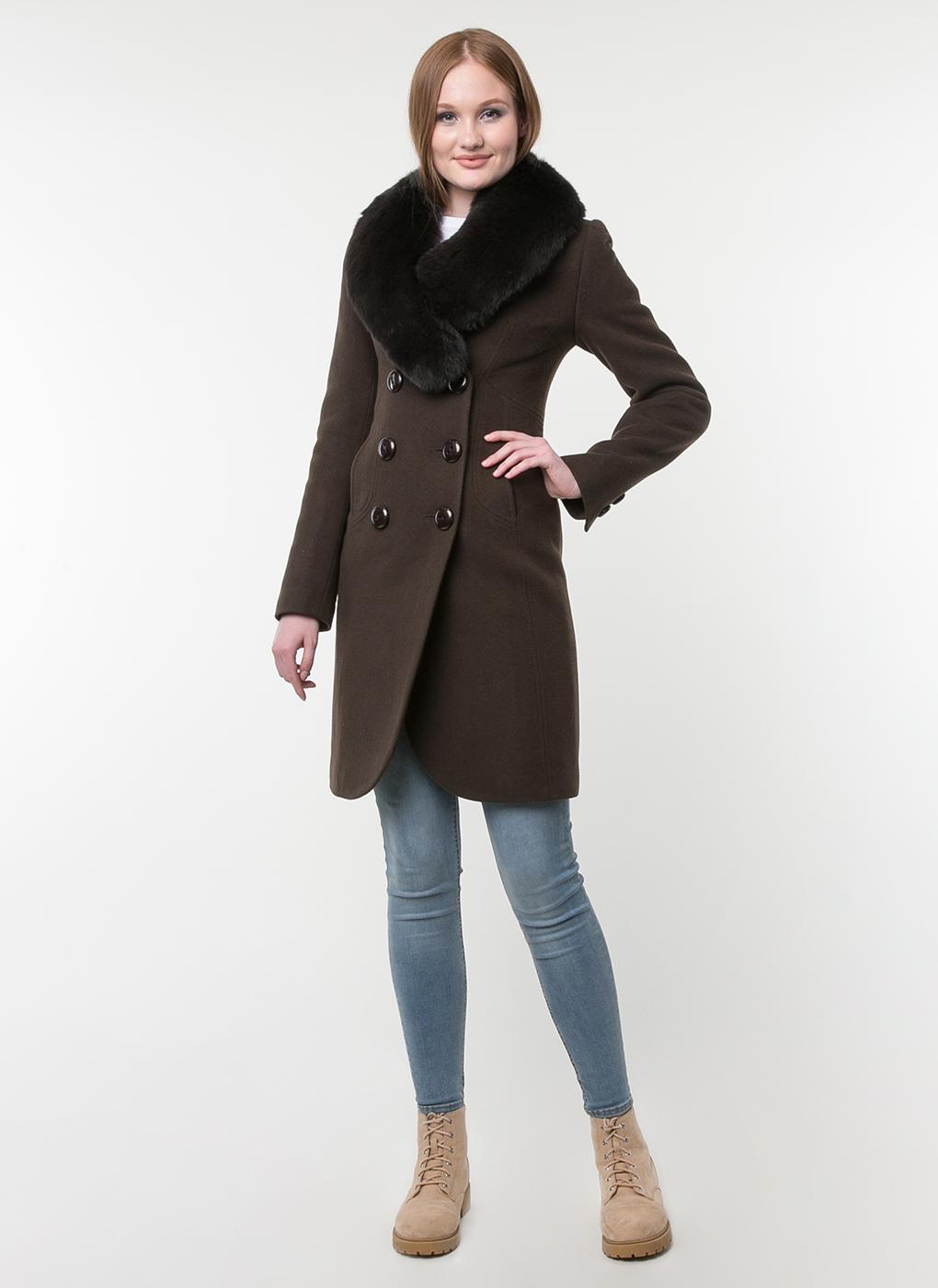 Пальто приталенное шерстяное 31, idekka