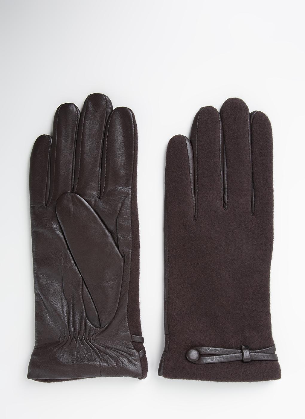 Перчатки шерстяные женские 04, Fabretti фото