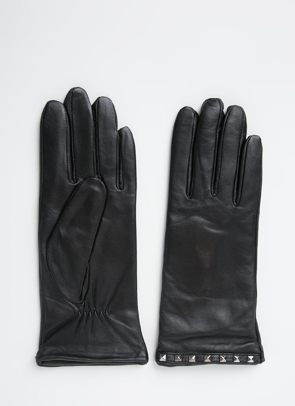 Перчатки кожаные женские 13, Fabretti фото