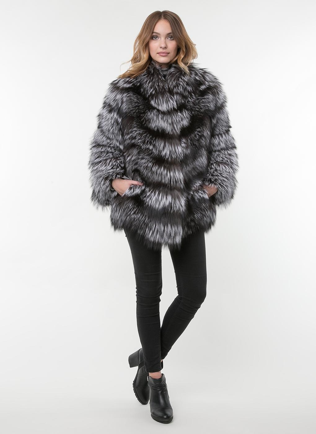 Куртка из лисы Дейзи 01, КАЛЯЕВ фото