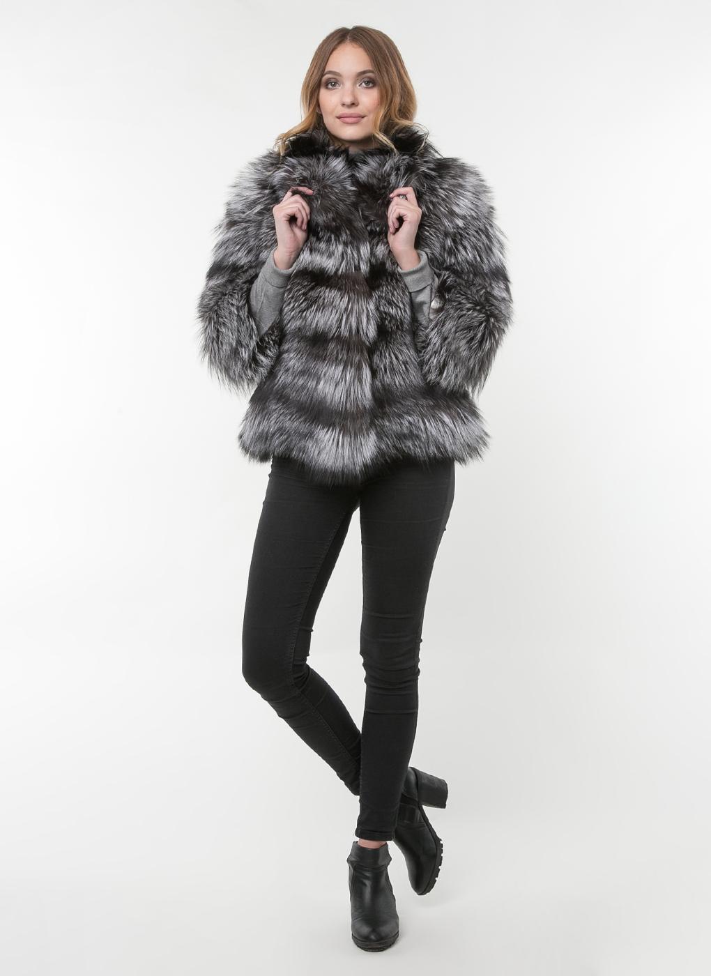 Куртка из лисы Джульетта 01, КАЛЯЕВ фото