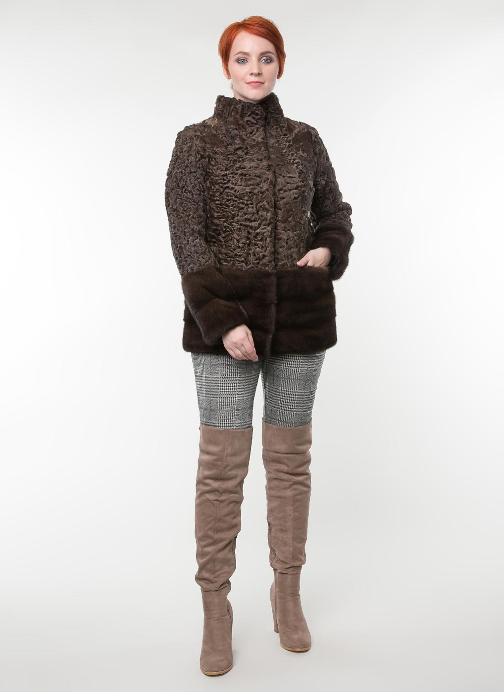 Куртка из каракуля Хелен 01, Элина