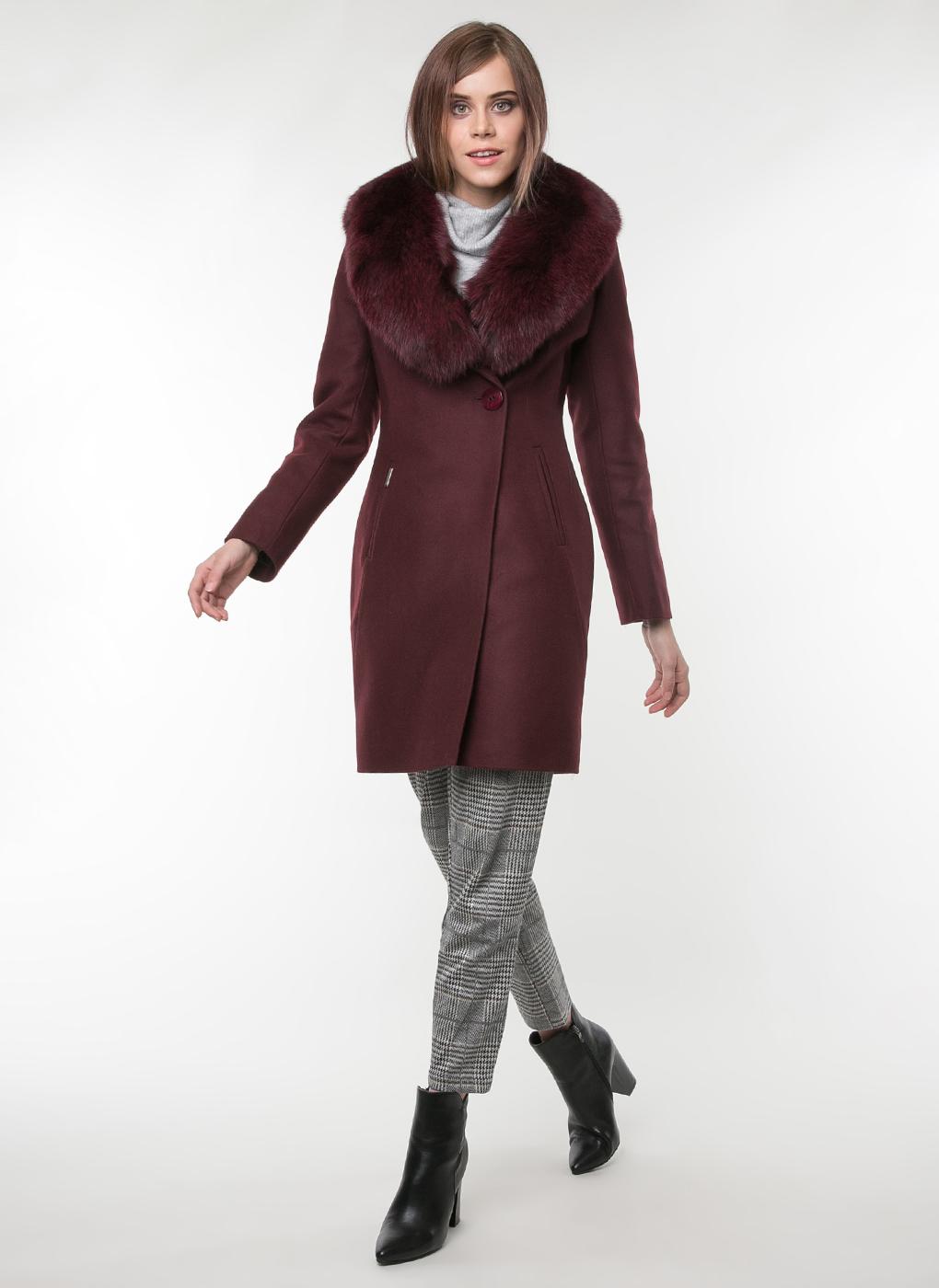 Пальто приталенное шерстяное 58, idekka