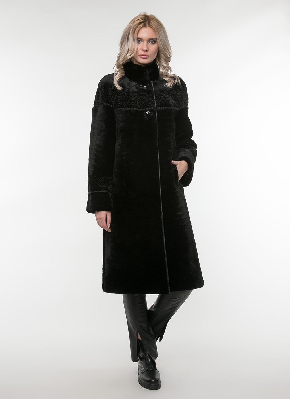 Пальто прямое из овчины 02, Feliz Furs