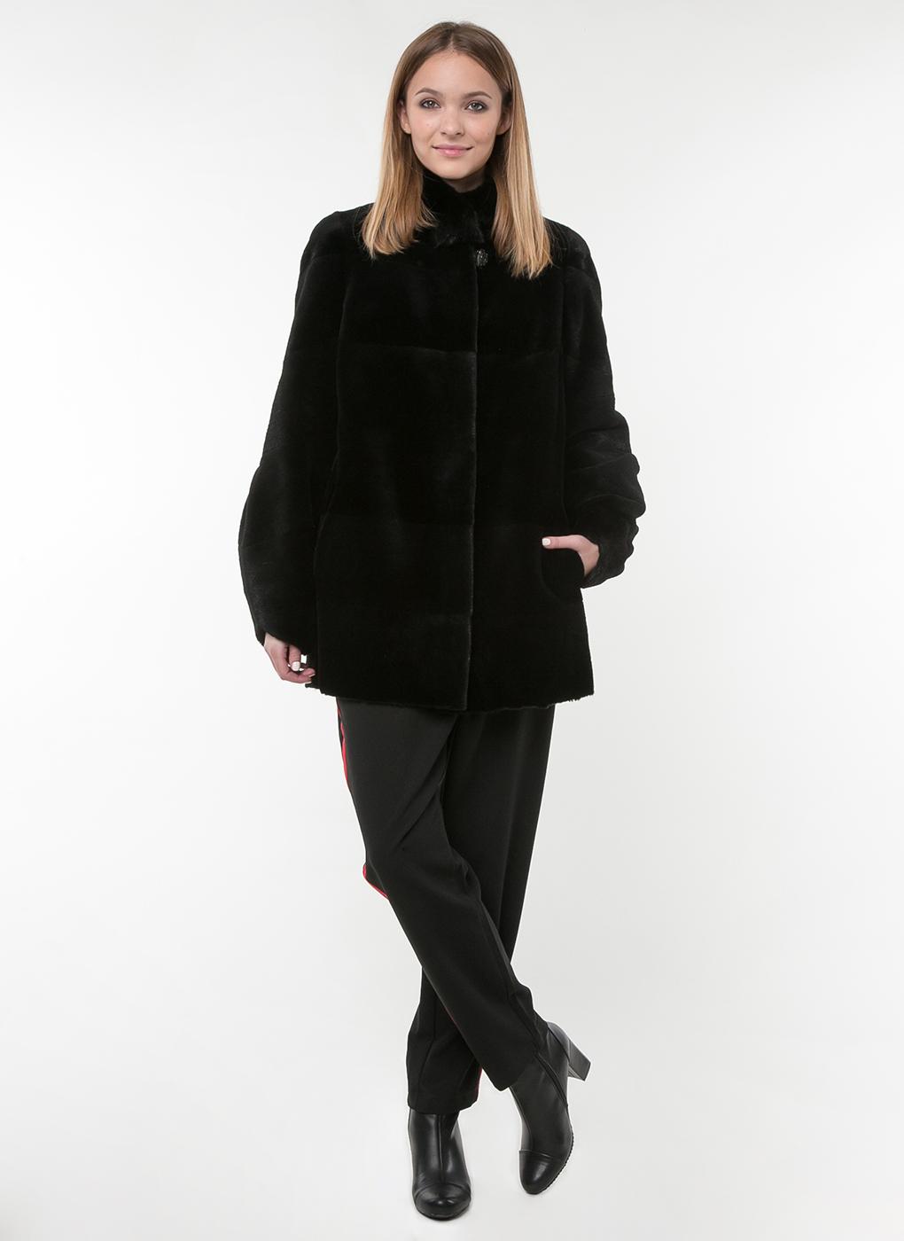 Куртка из нутрии Бернадет 01, Олимп фото