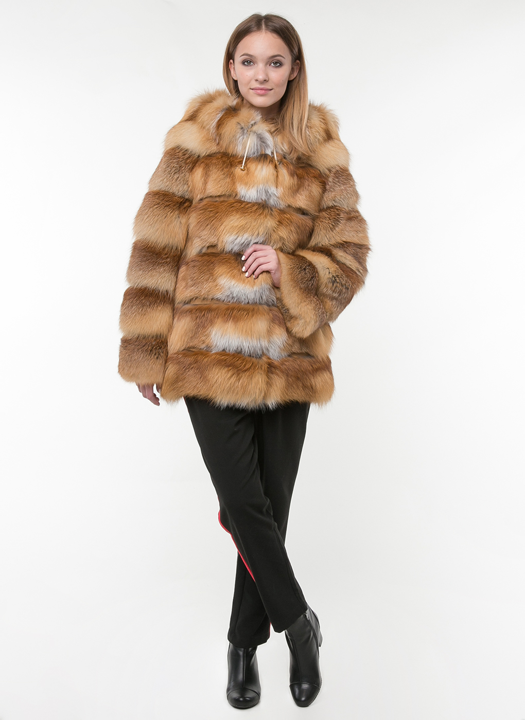 Куртка из лисы Джульетта 02, Олимп