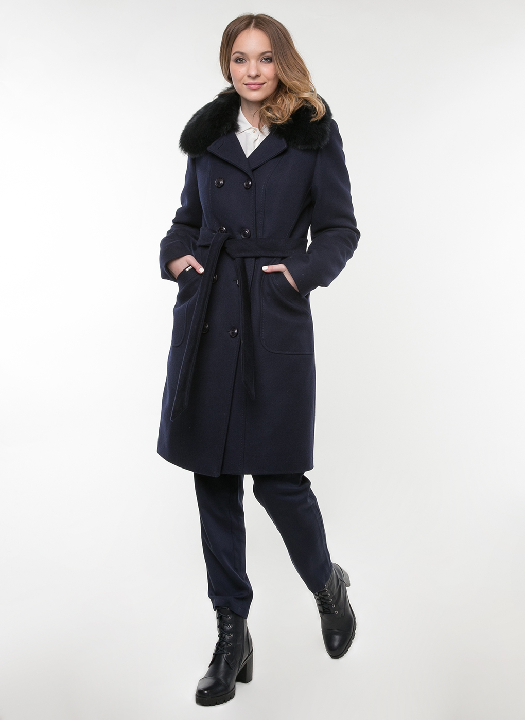 Пальто приталенное шерстяное 04, idekka