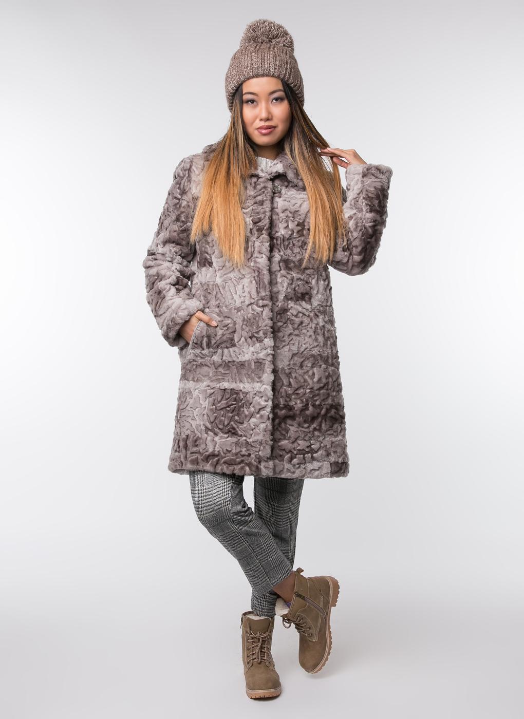 Пальто прямое из овчины 02, Dzhanbekoff