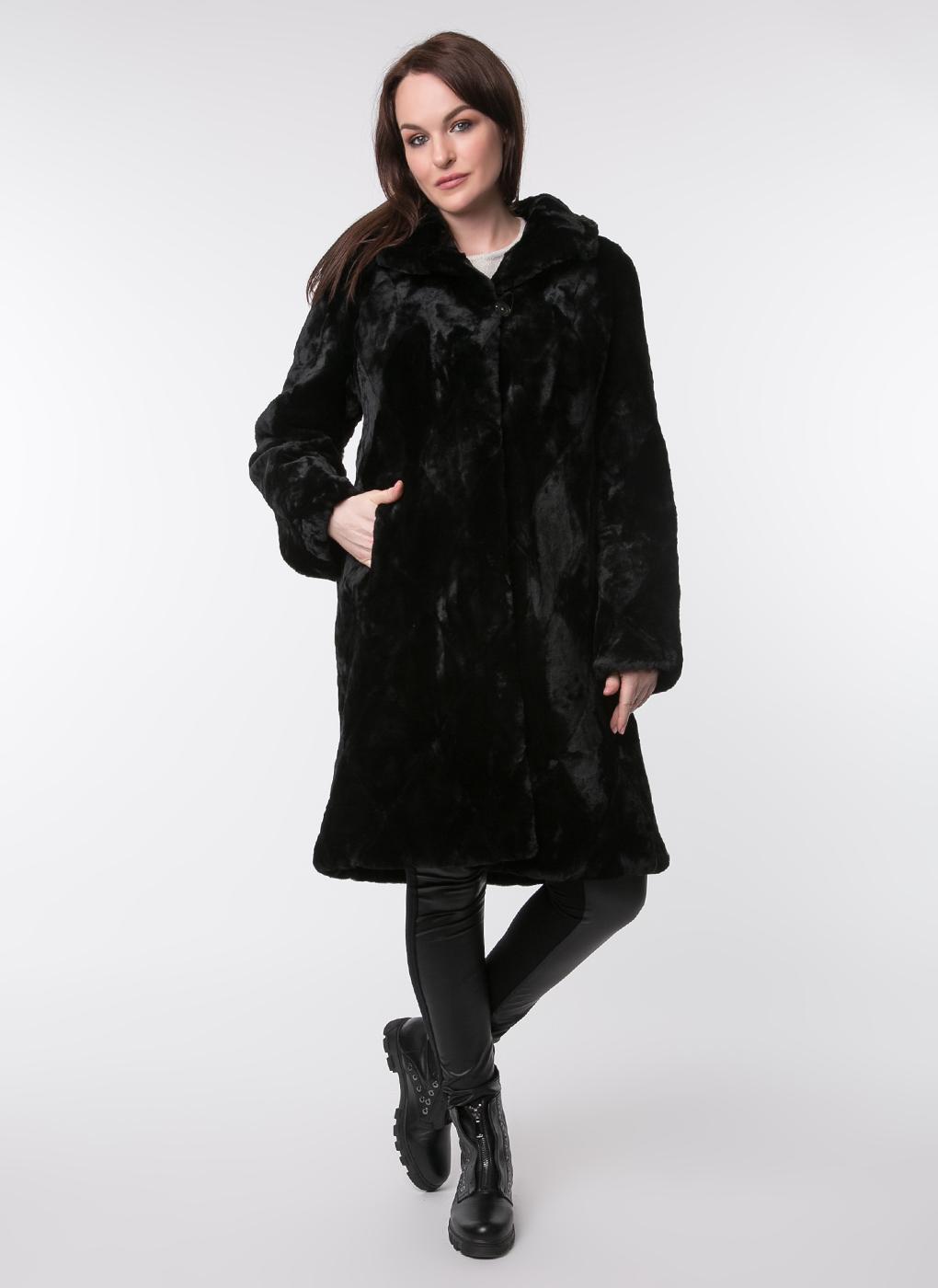 Пальто прямое из овчины 04, Dzhanbekoff фото