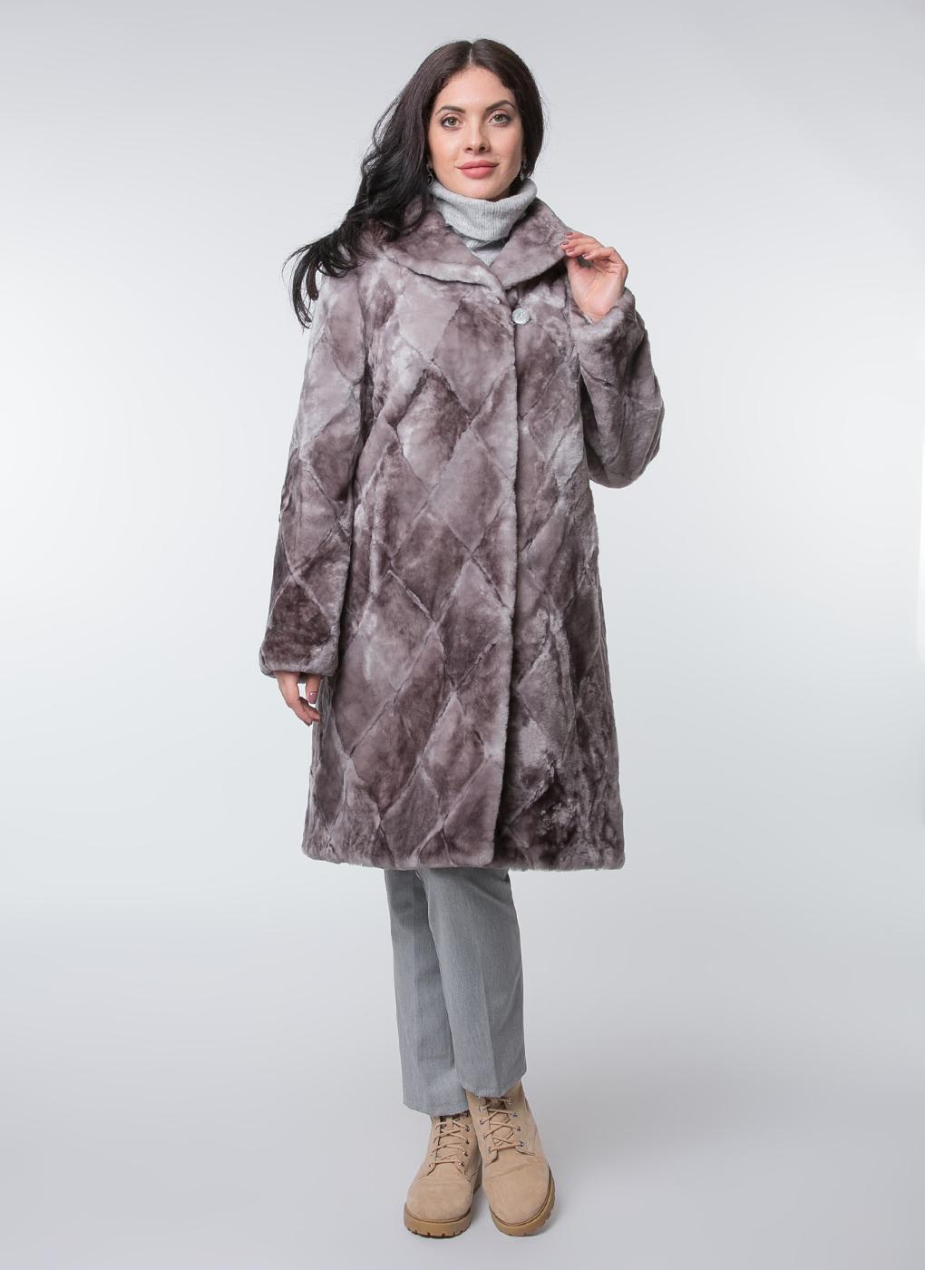 Пальто прямое из овчины 04, Dzhanbekoff